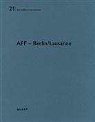 Heinz Wirz - AFF - Architekten Berlin