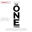 Gar Keller, Gary Keller, Jay Papasan - The One Thing (Hörbuch)