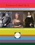 Maria Ljungdahl - Romanser och sånger Op. 17
