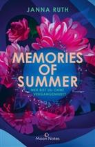 Janna Ruth - Memories of Summer
