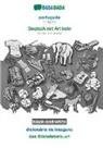 Babadada Gmbh - BABADADA black-and-white, português - Deutsch mit Artikeln, dicionário de imagens - das Bildwörterbuch