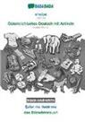 Babadada Gmbh - BABADADA black-and-white, shqipe - Österreichisches Deutsch mit Artikeln, fjalor me ilustrime - das Bildwörterbuch