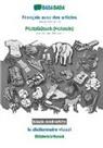 Babadada GmbH - BABADADA black-and-white, Français avec des articles - Plattdüütsch (Holstein), le dictionnaire visuel - Bildwöörbook