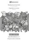 Babadada Gmbh - BABADADA black-and-white, Deutsch mit Artikeln - Ukrainian (in cyrillic script), das Bildwörterbuch - visual dictionary (in cyrillic script)