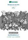 Babadada Gmbh - BABADADA black-and-white, Deutsch mit Artikeln - Tamil (in tamil script), das Bildwörterbuch - visual dictionary (in tamil script)