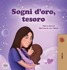 Shelley Admont, Kidkiddos Books - Sweet Dreams, My Love (Italian Children's Book)