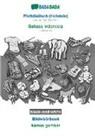 Babadada Gmbh - BABADADA black-and-white, Plattdüütsch (Holstein) - Bahasa Indonesia, Bildwöörbook - kamus gambar