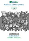 Babadada GmbH - BABADADA black-and-white, Plattdüütsch mit Artikel (Holstein) - português, dat Bildwöörbook - dicionário de imagens