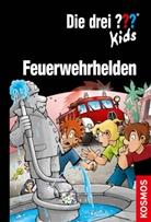 Ulf Blanck, Bori Pfeiffer, Boris Pfeiffer, Kim Schmidt, Stefanie Wegner - Die drei ??? Kids, Feuerwehrhelden