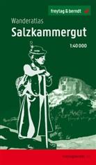 Freytag-Berndt und Artaria KG, Freytag-Bernd und Artaria KG - Salzkammergut, Wanderatlas 1:40.000
