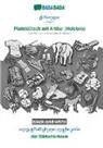 Babadada Gmbh - BABADADA black-and-white, Georgian (in georgian script) - Plattdüütsch mit Artikel (Holstein), visual dictionary (in georgian script) - dat Bildwöörbook