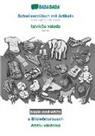 Babadada Gmbh - BABADADA black-and-white, Schwiizerdütsch mit Artikeln - latvieSu valoda, s Bildwörterbuech - Attelu vardnica