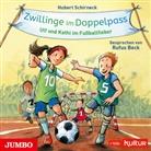 Hubert Schirneck, Rufus Beck - Zwillinge im Doppelpass. Ulf und Kathi im Fußballfieber, Audio-CD (Hörbuch)