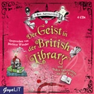 Ben Aaronovitch, Dietmar Wunder - Der Geist in der British Library und andere Geschichten aus dem Folly, 4 Audio-CD (Hörbuch)