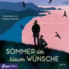 Antje Babendererde, Katinka Kultscher - Sommer der blauen Wünsche, 4 Audio-CD (Hörbuch)