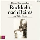 Didier Eribon, Thomas Ostermeier - Rückkehr nach Reims, 1 Audio-CD, (Hörbuch)