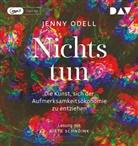 Jenny Odell, Birte Schnöink - Nichts tun - Die Kunst, sich der Aufmerksamkeitsökonomie zu entziehen, 1 Audio-CD (Hörbuch)