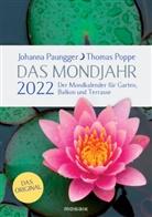 Johann Paungger, Johanna Paungger, Thomas Poppe - Das Mondjahr 2022, Gartenspiralkalender