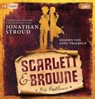 Jonathan Stroud, Anna Thalbach - Scarlett & Browne - Die Outlaws, 2 Audio-CD, (Hörbuch)
