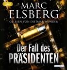 Marc Elsberg, Dietmar Wunder - Der Fall des Präsidenten, 2 Audio-CDs (Hörbuch)