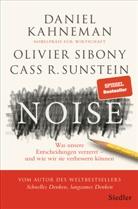 Danie Kahneman, Daniel Kahneman, Olivie Sibony, Olivier Sibony, Cass R Sunstein, Cass R. Sunstein - Noise