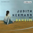 Judith Hermann, Judith Hermann - Daheim, 4 Audio-CD (Hörbuch)
