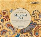 Jane Austen, Johanna Gastdorf, Lisa Hrdina, Kilian Land, Felix von Manteuffel, Sina Martens... - Mansfield Park, 3 Audio-CD (Hörbuch)