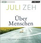 Juli Zeh, Anna Schudt - Über Menschen, 1 MP3-CD (Hörbuch)