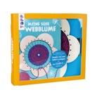 Sabine Heintzen - Kreativ-Set Meine süße Webblume (Buch + Material)