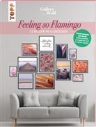 """Frederike Treu - Gallery Wall """"Feeling so Flamingo"""". 12 Bilder in 4 Größen"""