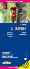 Reise Know-How Verlag Peter Rump, Reise Know-How Verlag Peter Rump - Reise Know-How Landkarte Borneo (1:1.200.000): Kalimantan, Sabah & Sarawak, Brunei - Indonesien 3
