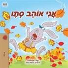 Shelley Admont, Kidkiddos Books - I Love Autumn (Hebrew Children's Book)