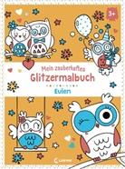 Loewe Kreativ - Mein zauberhaftes Glitzermalbuch - Eulen