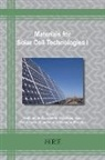 Inamuddin - Materials for Solar Cell Technologies I