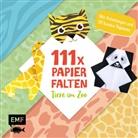Thade Precht - 111 x Papierfalten - Tiere im Zoo