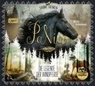 Sabine Giebken, Birte Schnöink - PaNia - Die Legende der Windpferde (mp3-CD), 1 Audio-CD, (Hörbuch)