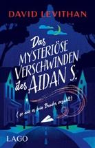David Levithan - Das mysteriöse Verschwinden des Aidan S. (so wie es sein Bruder erzählt)