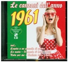 Various - Le Canzoni Dell'Anno 1961, 2 Audio-CD (Hörbuch)