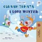 Shelley Admont, Kidkiddos Books - I Love Winter (Bulgarian English Bilingual Children's Book)