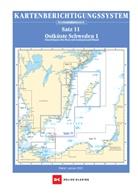 Team Technology Engineering+ Marketing GmbH Dr. Dirk Blume - Berichtigung Sportbootkarten Satz 11: Ostküste Schweden 1 (Ausgabe 2021)