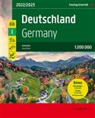Freytag-Berndt und Artaria KG, Freytag-Bernd und Artaria KG - Deutschland / Germany, Autoatlas 1:200.000