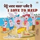 Shelley Admont, Kidkiddos Books - I Love to Help (Punjabi English Bilingual Children's Book - Gurmukhi)