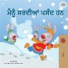 Shelley Admont, Kidkiddos Books - I Love Winter (Punjabi Book for Kids- Gurmukhi)