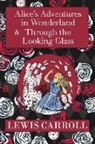 Lewis Carroll, John Tenniel - The Alice in Wonderland Omnibus Including Alice's Adventures in Wonderland and Through the Looking Glass (with the Original John Tenniel Illustrations) (A Reader's Library Classic Hardcover)