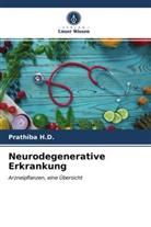 Prathiba H D, Prathiba H. D., Prathiba H.D - Neurodegenerative Erkrankung