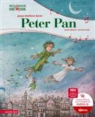 Henri Albrecht, Henrik Albrecht, James Matthew Barrie, Susanne Smajic, Susanne Smajić - Peter Pan (Weltliteratur und Musik mit CD)