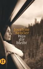 Jocelyne Saucier - Was dir bleibt