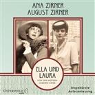 An Zirner, Ana Zirner, Augus Zirner, August Zirner, Ana Zirner, August Zirner - Ella und Laura, 2 Audio-CD, 2 MP3 (Hörbuch)
