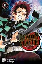 Koyoharu Gotouge - Demon Slayer - Kimetsu no Yaiba. Bd.10