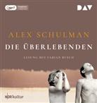 Alex Schulman, Fabian Busch - Die Überlebenden, 1 Audio-CD, 1 MP3 (Hörbuch)